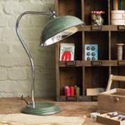 Traditional vintage green pharmacy desk lamp