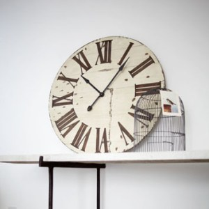 Make a statement with a large wall clock