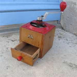 1950s Vintage French Coffee Grinder