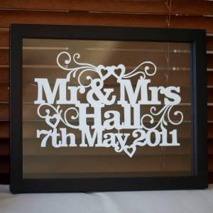 Wedding memories home accessories and art