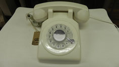 Retro home accesssories: 1970s GPO telephone