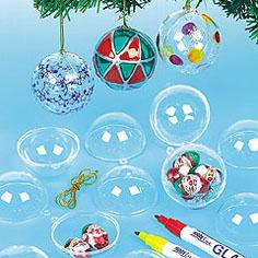 Christmas bauble kit for children