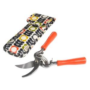 Designer gardening accessories: Orla Kiely secateurs