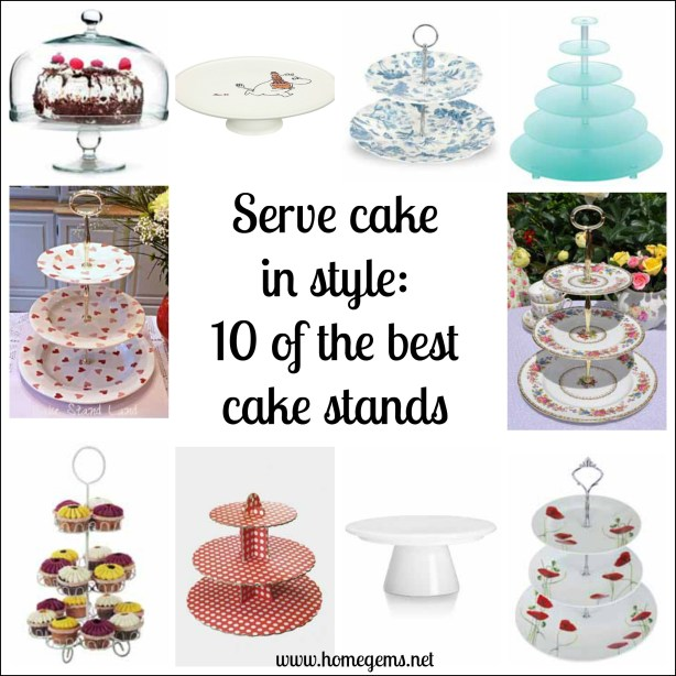Afternoon tea cake stand