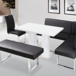 White Dining Room Tables And Chairs And Bench Corner 40 Design Secrets Download