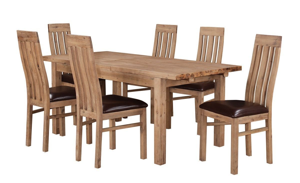 Wooden Dining Table And Chairs