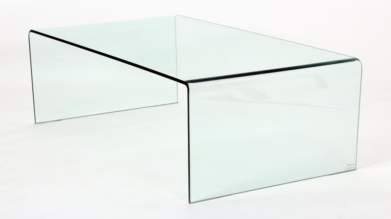 curved glass coffee table lamp table nest of tables