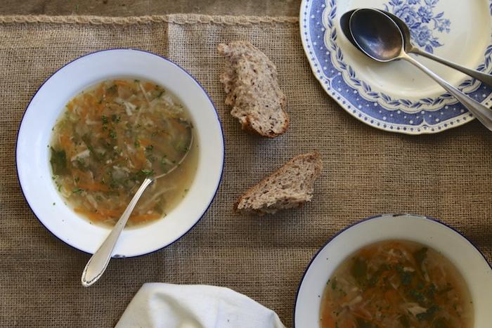 Nourishing Chicken Soup / HOMEGROWN KITCHEN