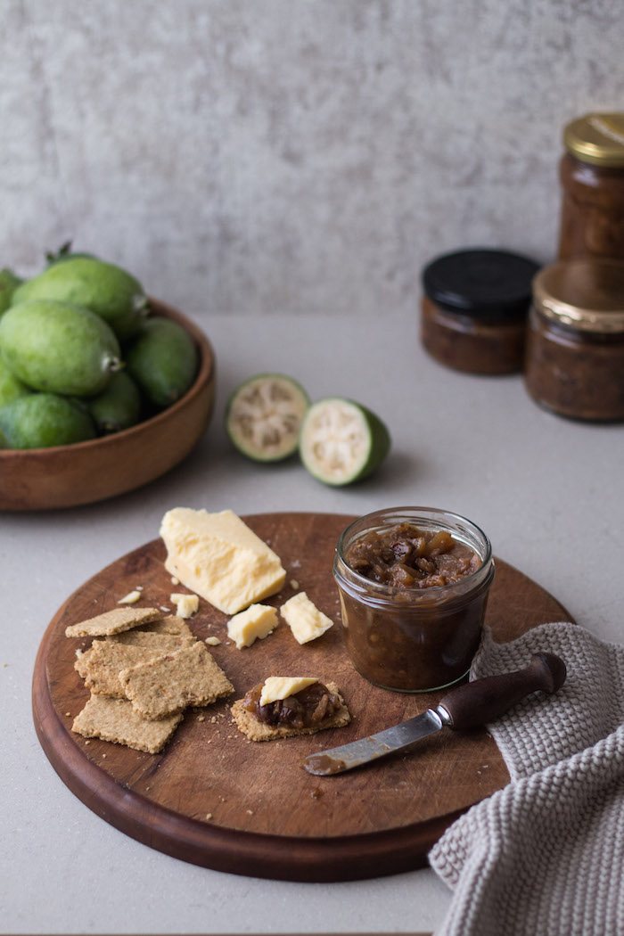 Feijoa & Ginger Chutney | HOMEGROWN KITCHEN
