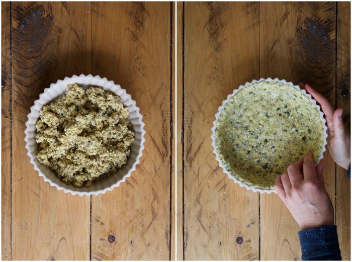 Asparagus & Mint Quiche | Homegrown Kitchen