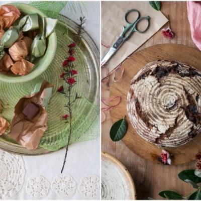 SALTED CARAMEL CHOCOLATES + Gratitude Sourdough Bread