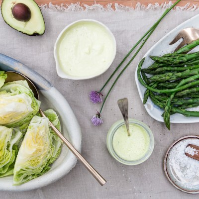 SAUCY SPRING DRESSINGS + Growing Asparagus