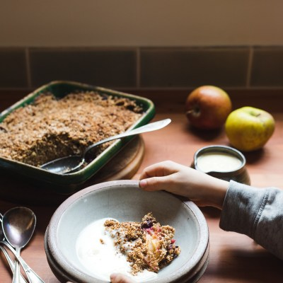 TAMARILLO CRUMBLE + Seeded Porridge