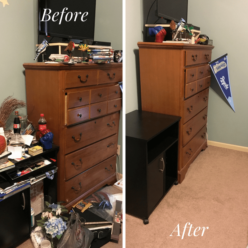 Clean Space Before-After