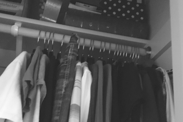 Clearing Out Closet Clutter