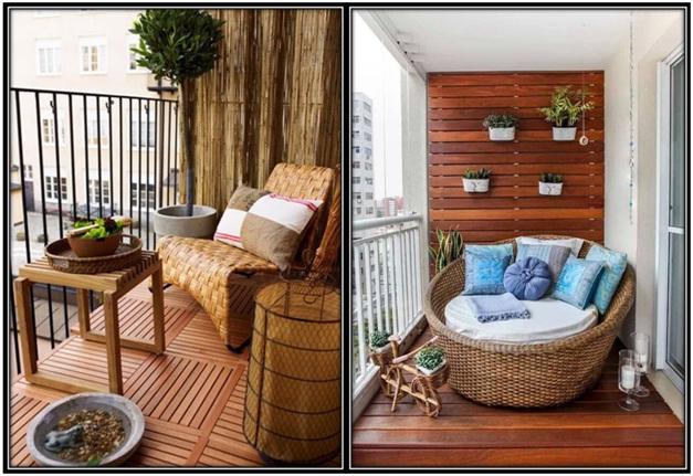 Room balconies
