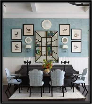 decorate a large, blank wall