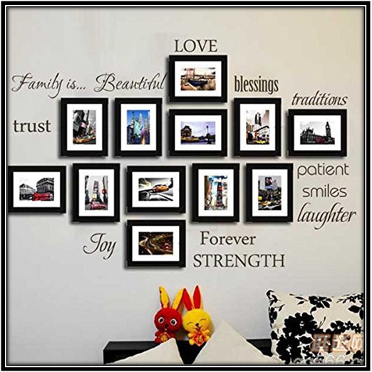Family Picture Home Decor Ideas