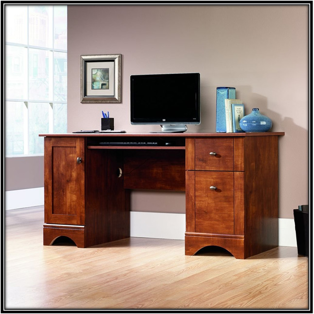 Brushed Maple Finish Desk Home Decor Ideas