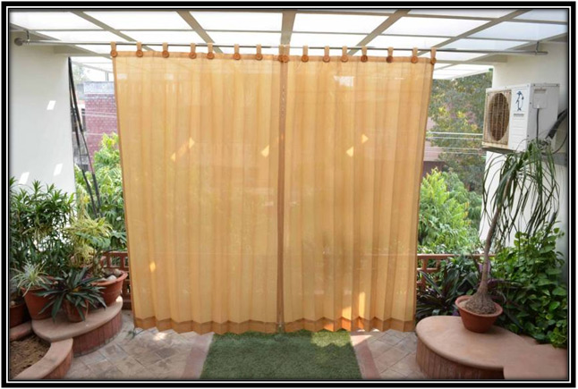 Window and Door Curtains Balcony Decoration Home Decor Ideas