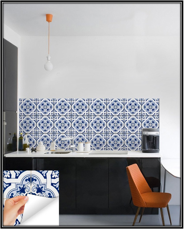 Backsplash Tile Stickers Home Decor Ideas