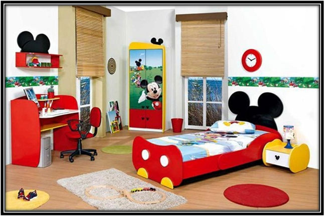 A Cartoon Inspired Room Home Decor Ideas