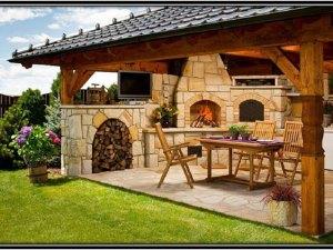 Outdoor Kitchen Home Decor Ideas