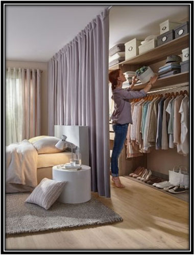 An Open Wardrobe Decor Ideas Home Decor Ideas
