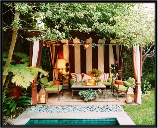Boho Seating In Outdoors Outdoor Decoration Ideas
