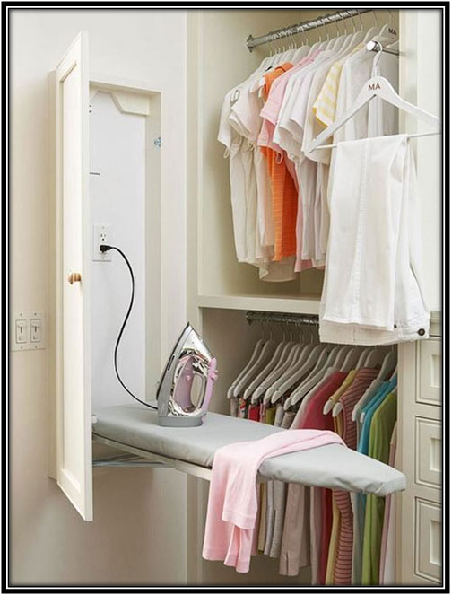 Ironing Table Laundry Room Decoration Ideas