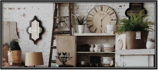 Make Space For Something Vintage Home Ware Decoration Items