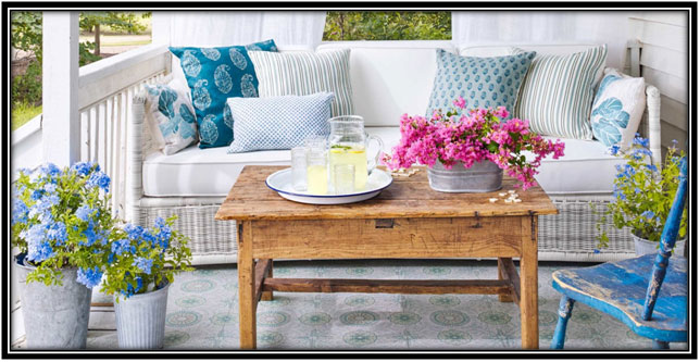 Make It Elegant Porch Decoration Ideas