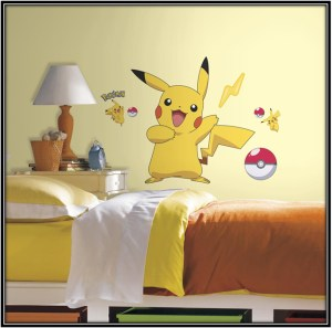 Pokemon Wall Stickers Pokemon Bedroom Ideas