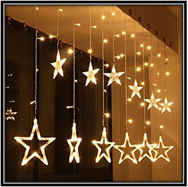 Star Hangings - Home Decor Ideas