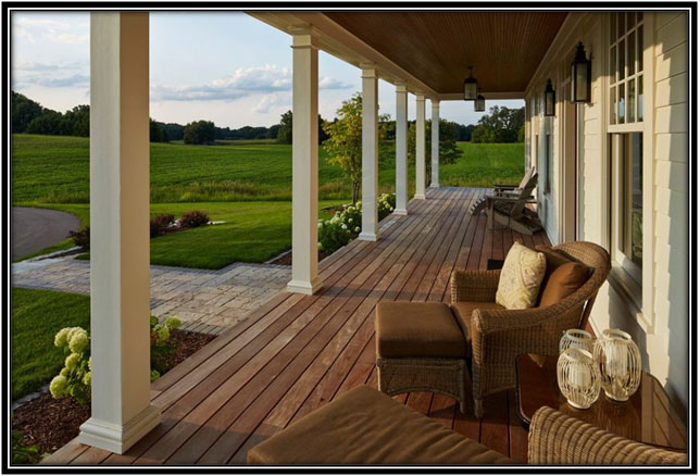 Front Porch Farm House Decor Ideas