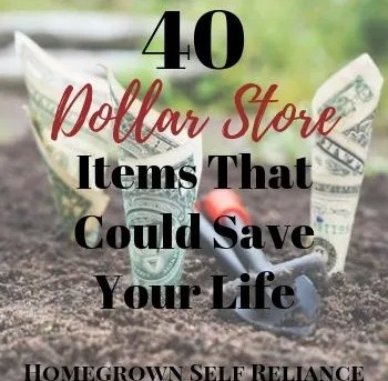40 Dollar Store Items That Could Save Your Life