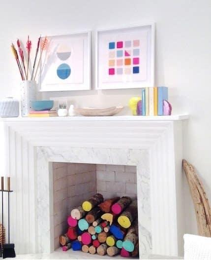 decorative fireplace ideas 2