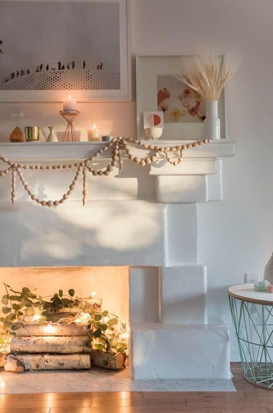 decorative fireplace ideas 8