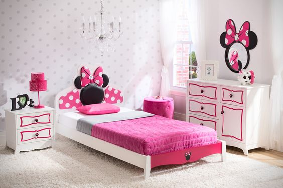 12 Adorable Minnie Mouse Room Ideas for Little Princesses - Home ...