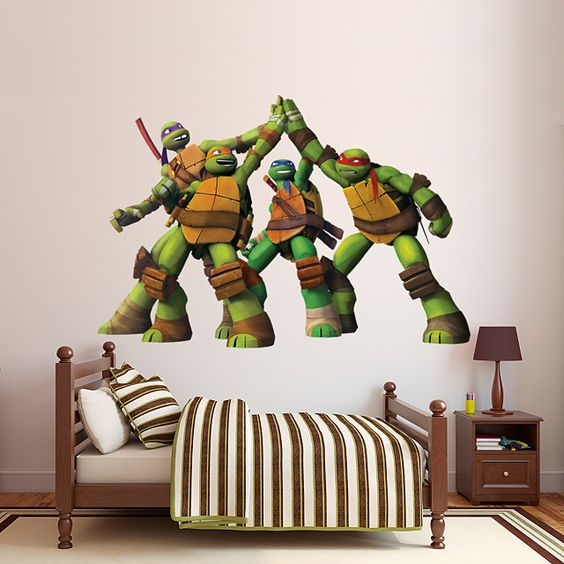 ninja turtle room ideas 1
