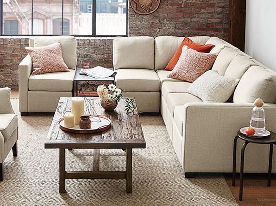 pottery barn living room ideas 9