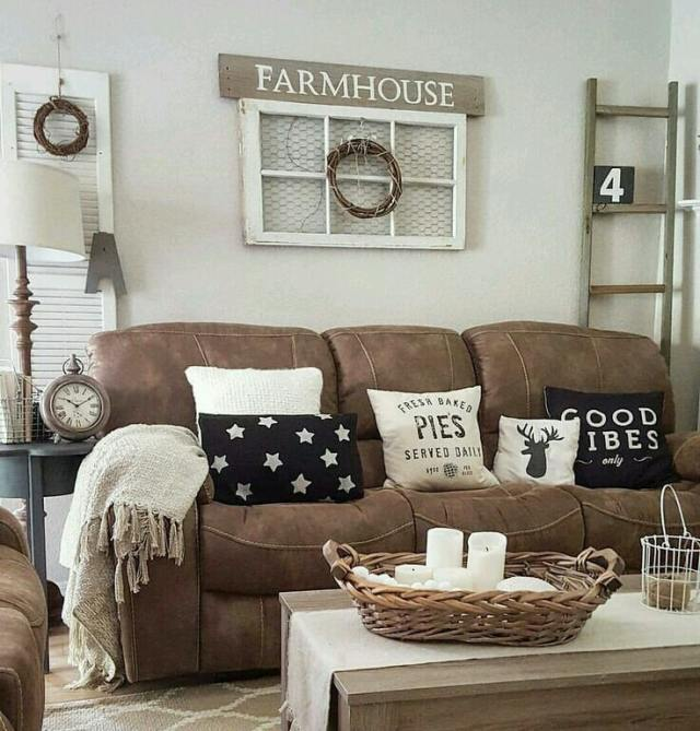 rustic ideas for living room 5