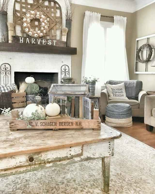 rustic ideas for living room 8