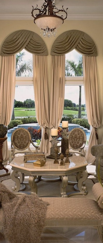 Astonishing Window Treatments for Large Windows in Living Rooms ...