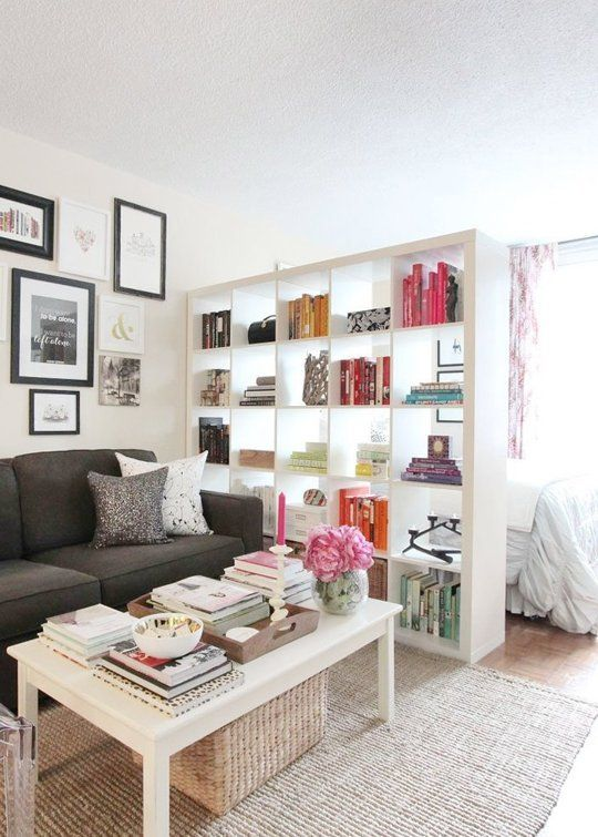 13 Brilliant Bookshelf Ideas For Small