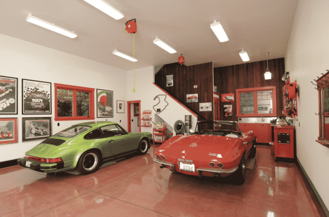Outstanding Color Ideas to Make Your Garage Exceptional ... on Garage Color Ideas  id=35016