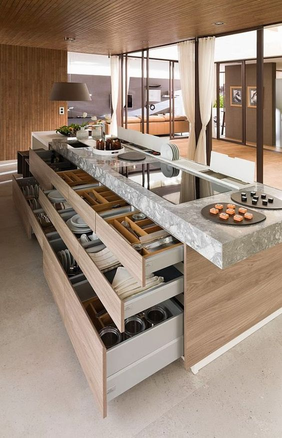 kitchen island design plans. Organization ideas for a kitchen island design  Kitchen Island Design Ideas that will Appeal to You Home HQ