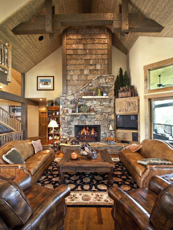 Home Tv Room Design Ideas: Effective Living Room Layouts For Your Fireplace And TV