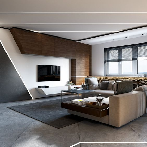 Streamline Modern Living Room Ideas. Modern Living Room Ideas 1