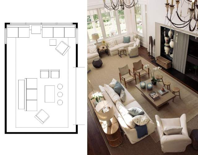 marvellous open living room layout | Marvelous Narrow Living Room Layouts: Solutions and ...